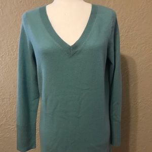NWT Apt.9 Cashmere Blue Sweater